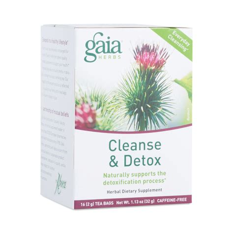 Gaia Herbs Cleanse And Detox Tea Reviews by 20 Bags Cleanse Detox Tea By Gaia Herbs Thrive Market