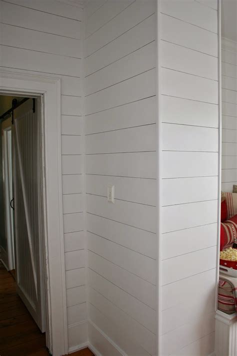 Shiplap Corners Shiplap Diy It S A Fancy Schmancy