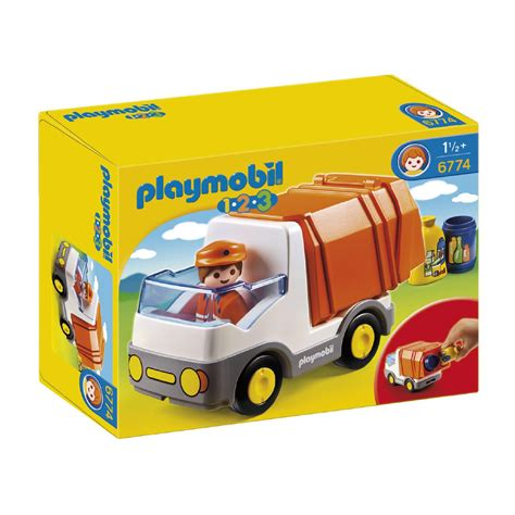 123 Address Finder Uk Playmobil 123 Recycling Truck 6774 163 13 00 Hamleys For Playmobil 123 Recycling