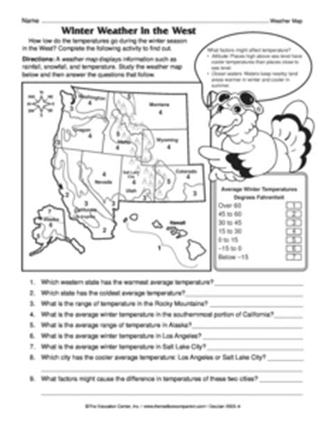 reading a weather map worksheet answers weather worksheet new 441 weather map reading worksheet