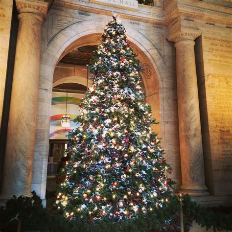 trees of new york christmas holiday 2015 oh the places