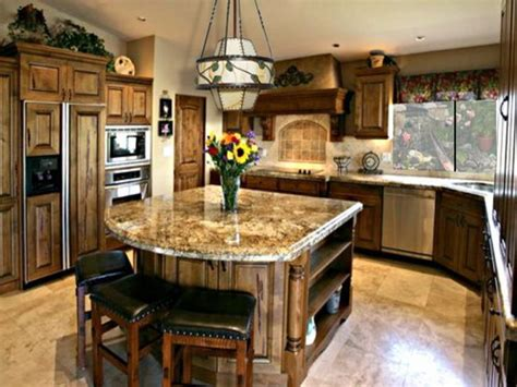 kitchen island with granite top and seating island not