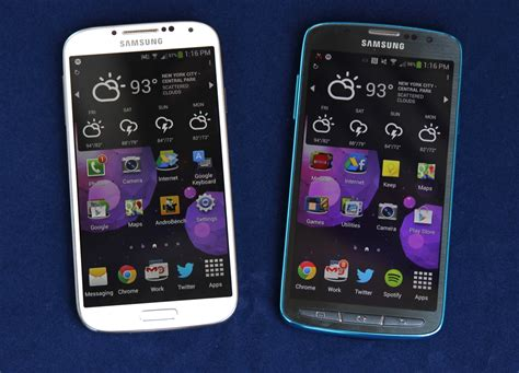 review galaxy   active   samsung phone  folks