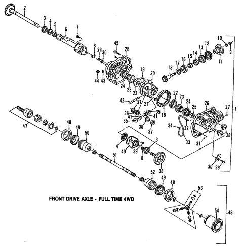 2000 gmc sonoma front differential parts diagram diagram auto wiring diagram gmc sonoma bushings differential housing insulator mount bushing front 4wd w 26022006