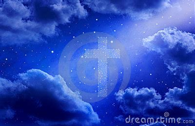 Mr Color 5 Blue By Ota Heaven sky cross heaven background stock image image