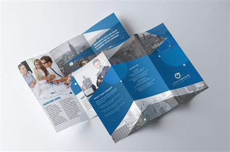 tri fold brochure indesign template tri fold brochure multipurpose brochure templates on