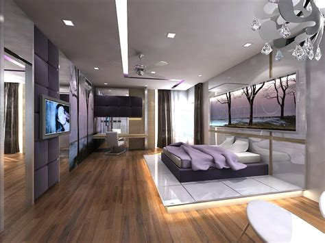 modern  luxury bedroom korean interior design style
