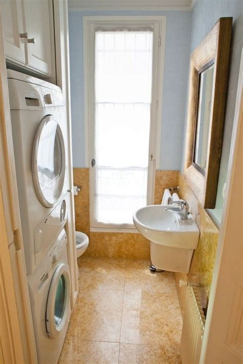 small bathroom laundry combo picture of small bathroom and laundry combo covered with cork
