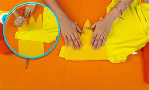 como hacer un pico con papel 191 c 243 mo hacer un disfraz de pato