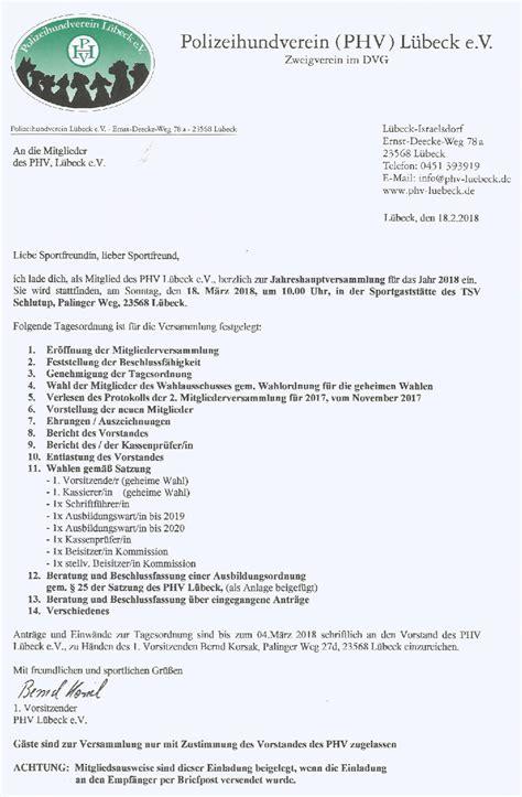 Muster Einladung Eigent Merversammlung ber 252 hmt vorlage der tagesordnung bilder