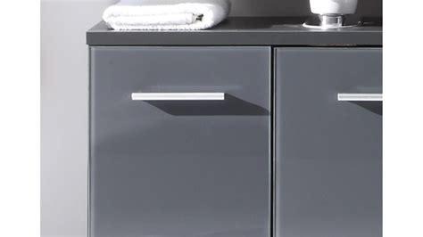 Badezimmer Unterschrank Grau by Waschbeckenunterschrank Hochglanz Grau Amilton