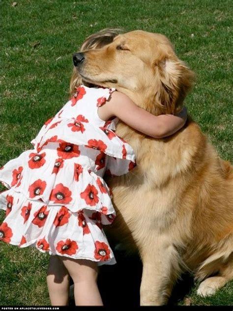 aplacetolovedogs  dog hug    protect
