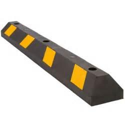 48 quot rubber block tire guide parking curb for car lot