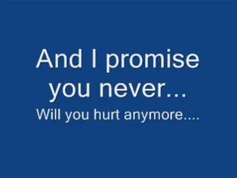 i you testo this i promise you nsync lyrics