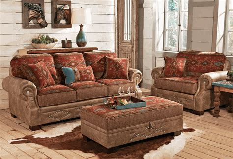 southwestern style sofas ranchero southwestern sofa collection