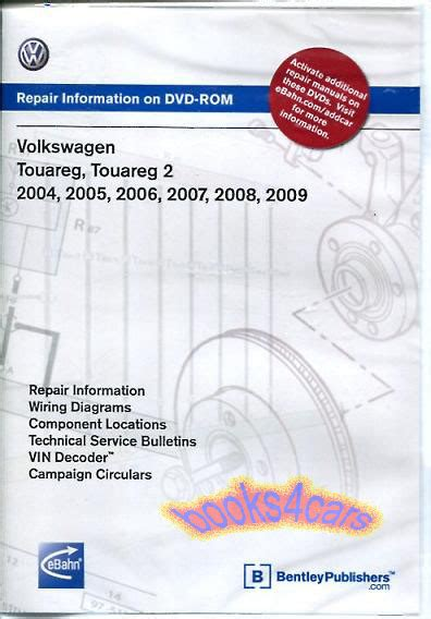 touareg shop manual service repair workshop dvd book volkswagen vw suv 2004 2009 ebay
