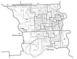 Omaha Zip Code Map by Nebraska Legislature Maps Clearinghouse