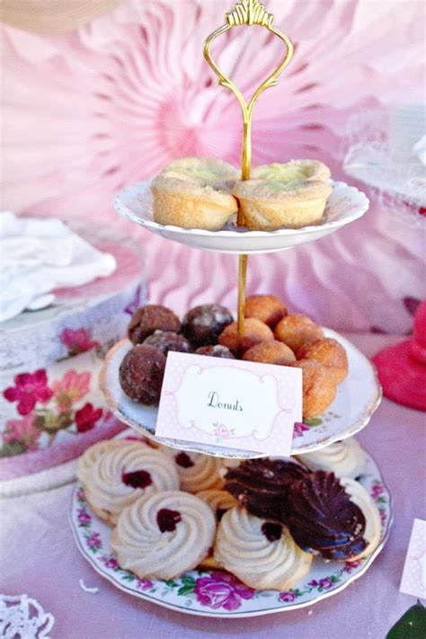 food for high tea bridal shower pink and white high tea bridal shower bridal shower ideas themes