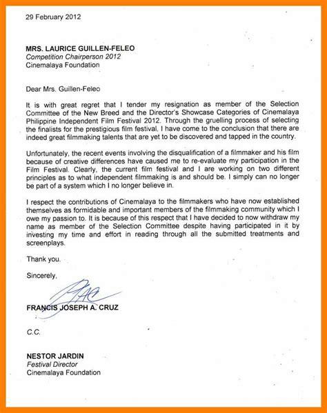 Best Resignation Letter Ever Good Resume Format Best Letter Template