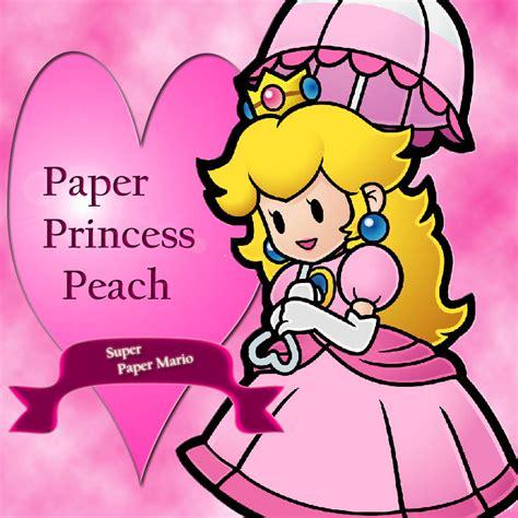 Paper Princess Peach By Pinkprincesspeachy On Deviantart Paper Princess