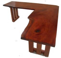 Custom Wood Computer Desk Wooden L Shaped Desk Office Furniture
