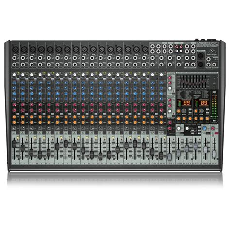 Mixer Behringer 2 Channel behringer eurodesk sx2442fx 24 channel analog mixer at