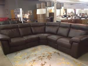 Bradington Young Sofa by B757 Reclining Sectional By Natuzzi Editions Labor Day Sale