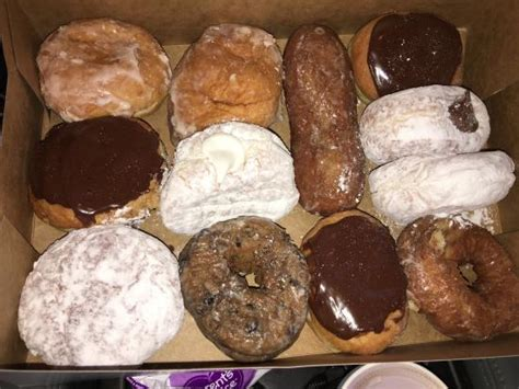 country style donuts richmond what an awesome selection of donuts picture of country