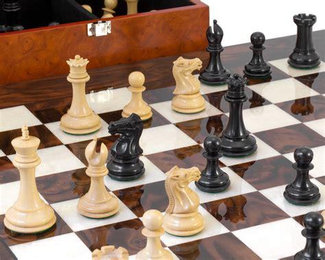 luxury chess set black sovereign luxury chess set rcpb256 163 437 04 the