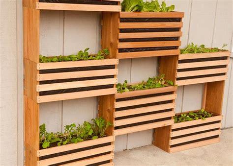 craft your own vertical vegetable garden corner