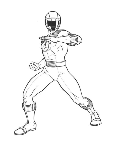 Power Rangers 7 Coloriage Power Rangers Coloriages