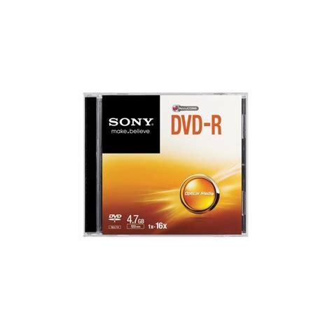 Sony Dvd R Blank 4 7 Gb Dvd Kosong sony 16x dvd r 4 7gb sony blank dvds