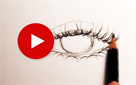 Drawing Eyelashes by How To Draw Eyelashes Tips Tricks 11