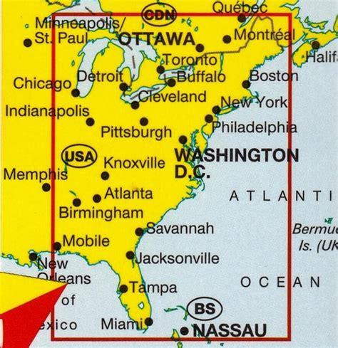 maps of eastern usa usa east marco polo buy map of eastern usa mapworld