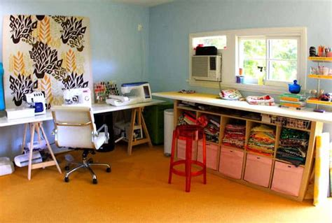 diy sewing room ideas the craft room redesign project diy sewing cutting tables pretty prudent