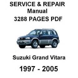 suzuki grand vitara repair manualuvuqgwtrke