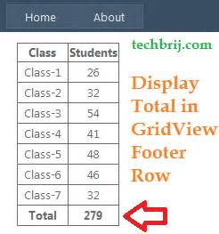 Template Field In Asp Net by Displaying Total In Asp Net Gridview Footer Row Without