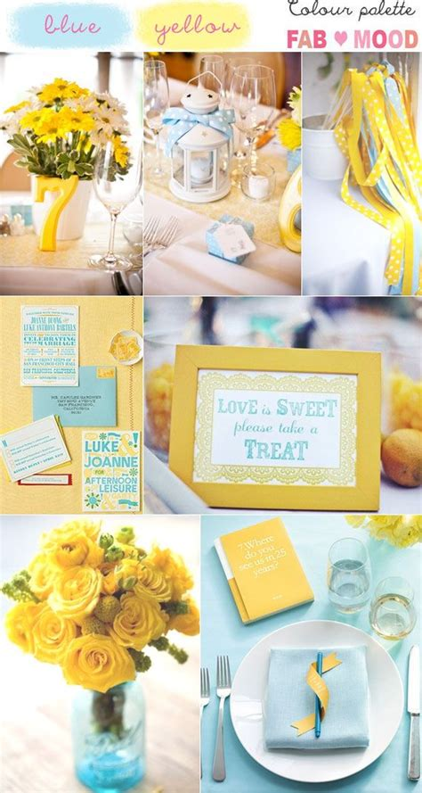 themes yellow light blue and yellow wedding theme www pixshark com