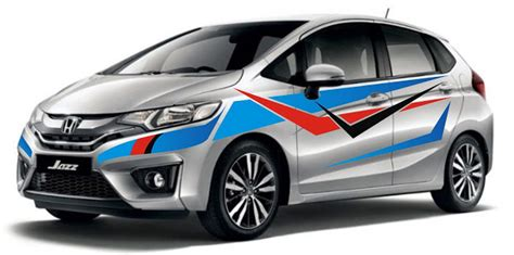 Stiker Mobil Jazz 341 new design stiker tribal honda jazz motor style