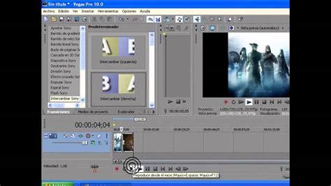 Tutorial Como Usar Vegas Pro 10 | tutorial como usar sony vegas pro 10 0 loquendo parte 1
