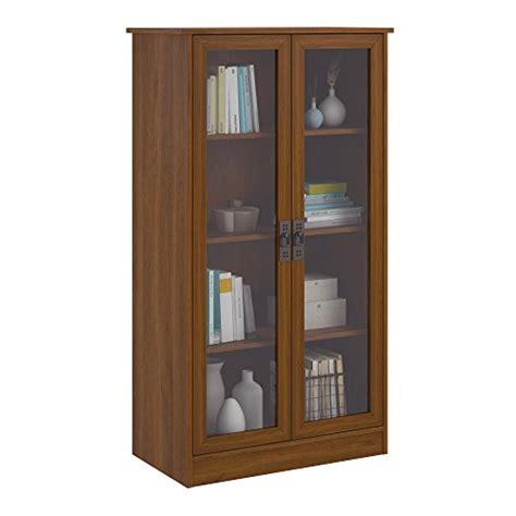 home trends and design glassdoor glass door bookcase classic po wood 34825