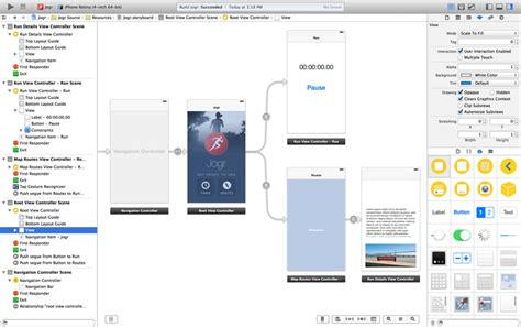 xcode layout builder apple xcode the complete toolset for building great apps