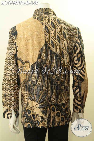 Hem Batik Jawa pakaian batik elegan mewah hem batik jawa tengah halus