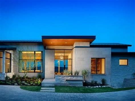 great modern single story house plans uploaded by