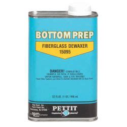 boat bottom paint prep bottom prep fiberglass dewaxer pettit fisheries supply