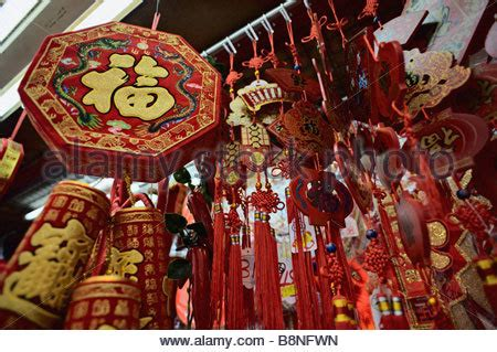 new year outside china new year decorations for sale in chinatown kuala