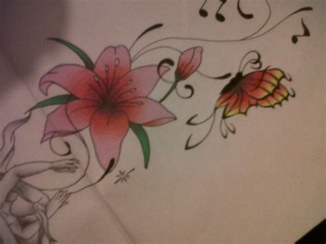 design flower and butterfly flower tattoos designs ideas and meaning tattoos for you
