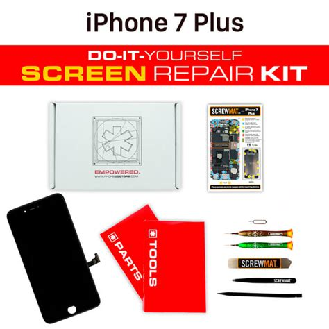 iphone 7 plus screen replacement just the screen apple iphone 7 plus screen replacement diy kit