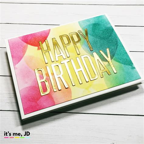 Easy Diy Birthday Cards