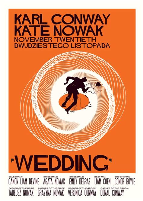 poster wedding invitation gorgeous 60s style wedding in athlone real wedding